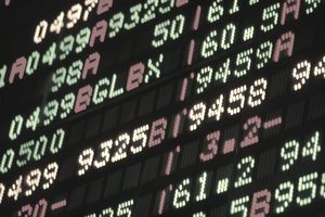 Stock prices at the Chicago Mercantile Exchange