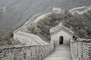 The famous Great Wall of China at Mutianyu in NIC China