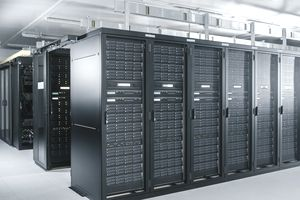 An American tech company data center in India, an example of foreign direct investment