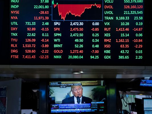 stock market_Trump