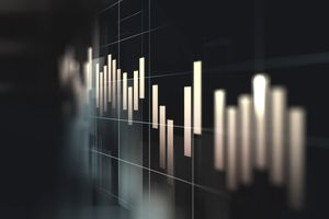 financial and coin stock market charts
