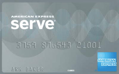 The Amex Serve card can be used like a checking account.