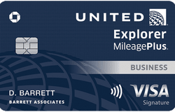 United Explorer Business Card