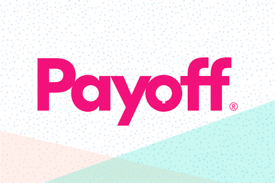 Logo for personal loan lender Payoff