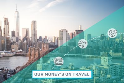 Traveling to New York City with credit card points.