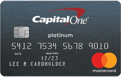 Secured Mastercard® from Capital One