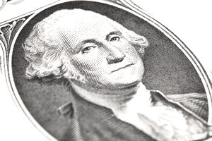 George Washington on Dollar Bill