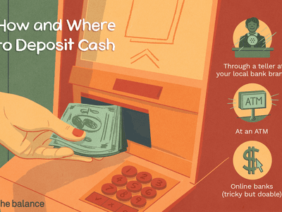 Illustration of how and where to deposit cash