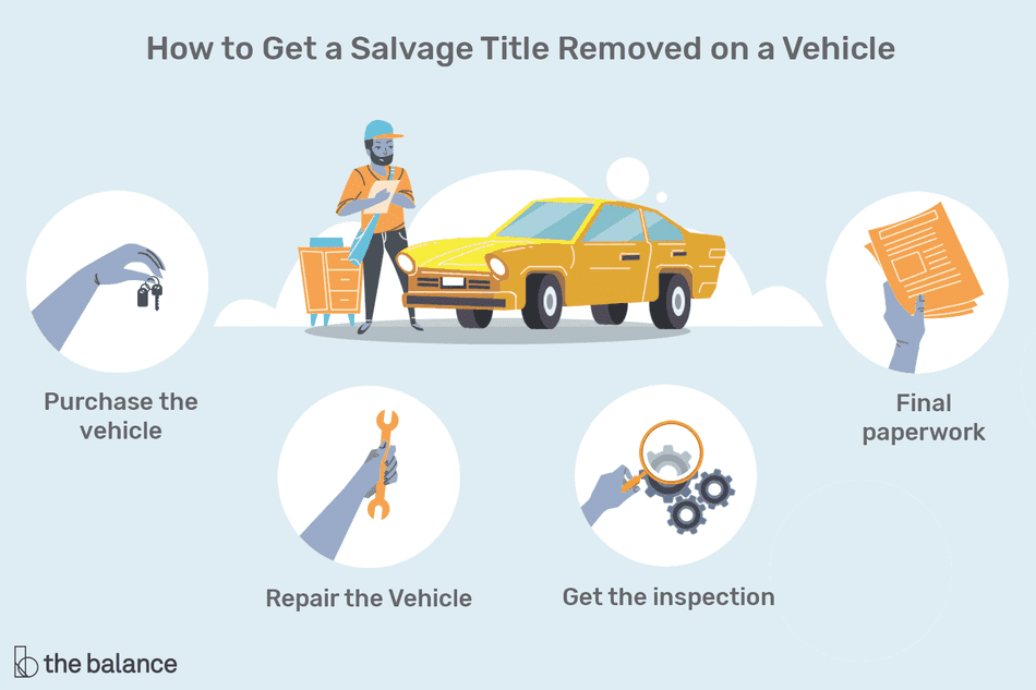 how to get a salvage title removed on a vehicle