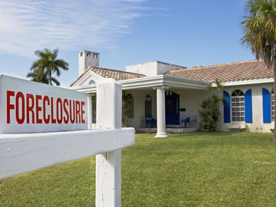 foreclosure sign, real estate