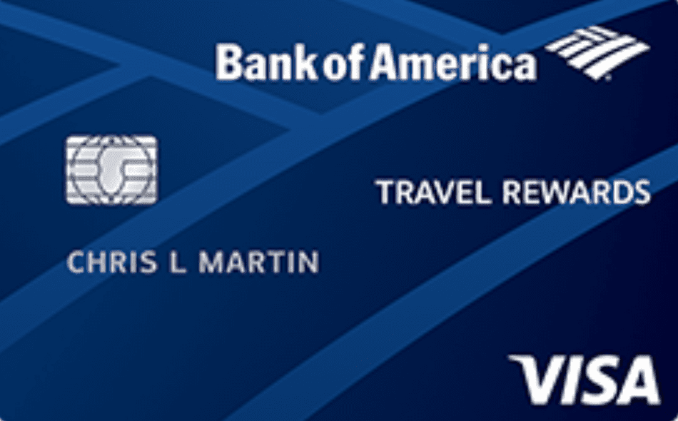 The Bank of America Travel Rewards for Students
