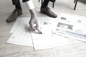 investment research_newspaper