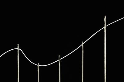 Needles in curve