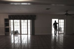 MIAMI, FL - AUGUST 23: Vachi Udolkin, Broker Associate RE/MAX Advance Realty, inspects a foreclosed home on August 23, 2018 in Miami, Florida. A report released by Attom Data Solutions showed that twenty-one states posted a year-over-year increase in foreclosure starts in July, including the state of Florida which is up 35 percent and the regional area of Miami-Fort Lauderdale-West Palm Beach when broken down within the state it is up 29 percent. (Photo by Joe Raedle/Getty Images)