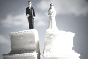 Divorced Wedding Cake