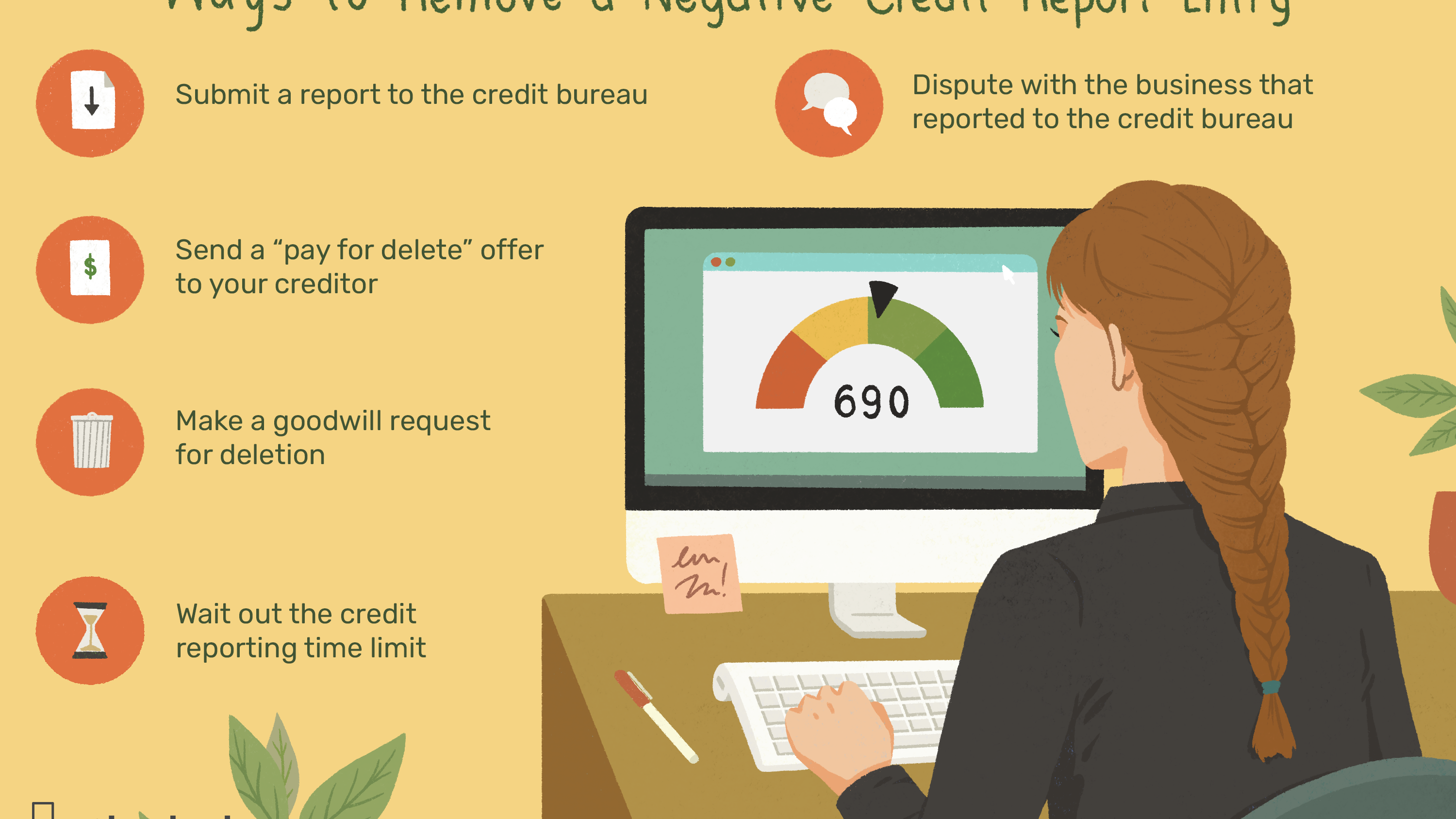 Strategies To Remove Negative Credit Report Entries