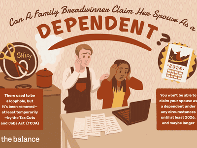 Can a Family Breadwinner Claim Her Spouse as a Dependent?