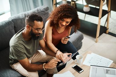 Couple using a joint credit card