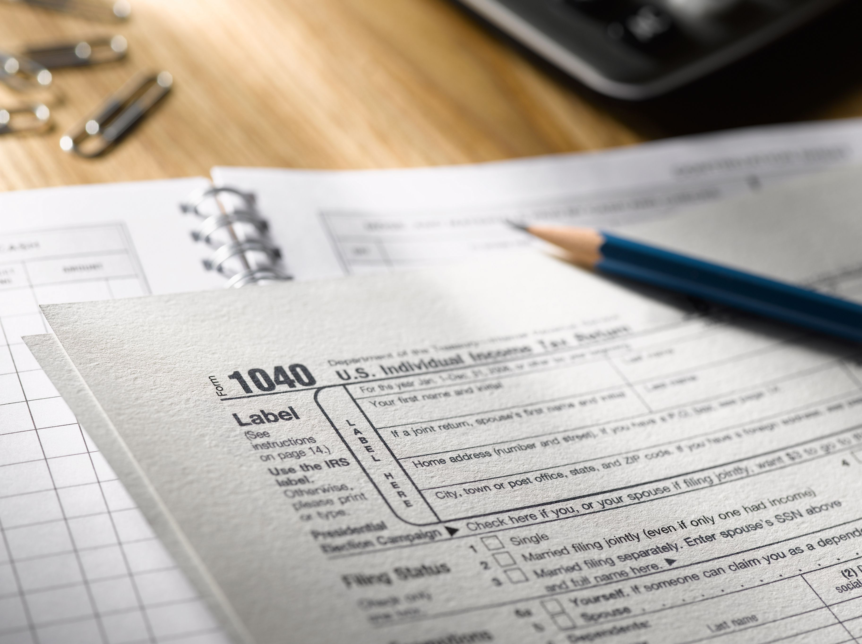 Tax Return 2017 Changes on Form 1040 and Schedule A