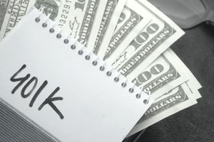 Cash designated for a 401(k) account