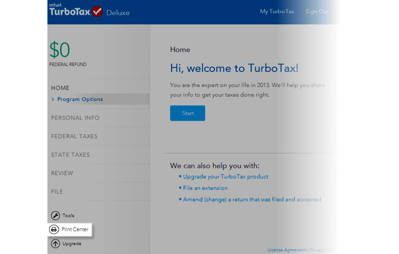 download turbotax deluxe 2017 federal and state