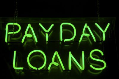 payday loans neon sign 173610801 5ba13fe6c9e77c00579bc958