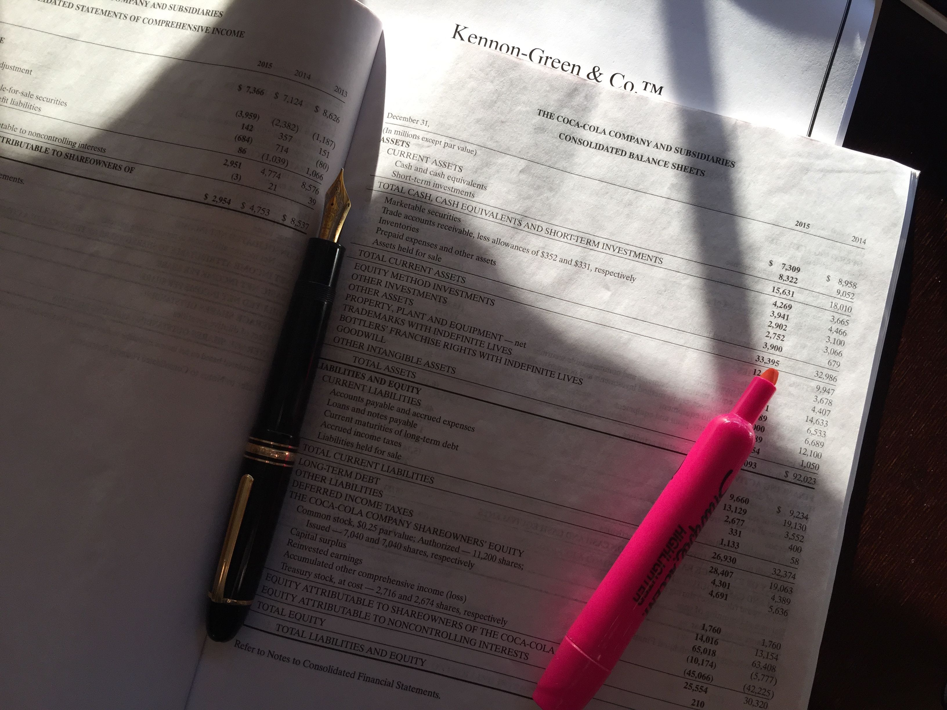 How to Read a Balance Sheet—a Table of Contents