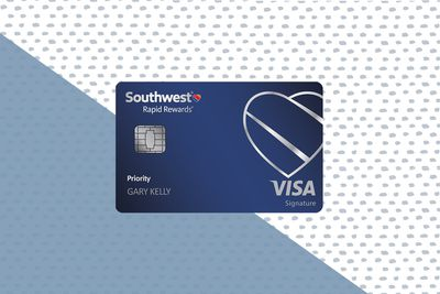 Southwest Rapid Rewards® Priority card image with background