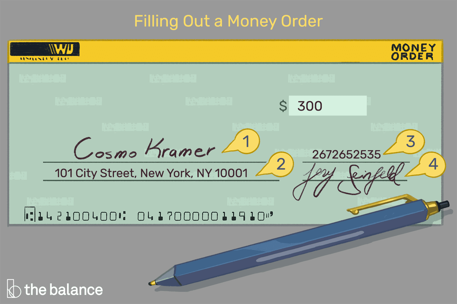 Guide to Filling Out a Money Order