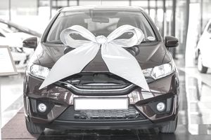 New SUV with a Bow