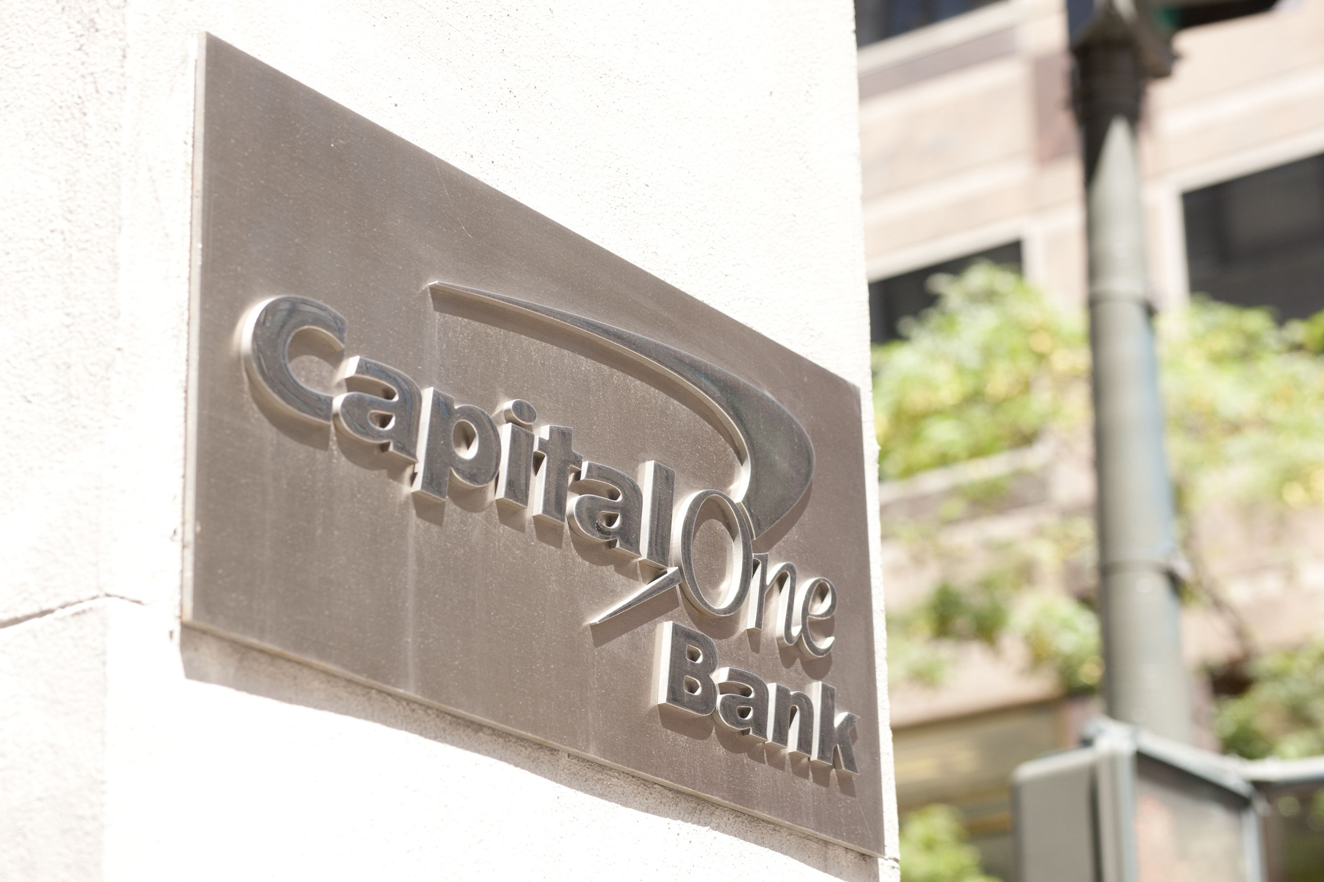 Capital One credit card details, postcode and date of birth.
