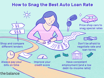 How to Snag the Best Auto Loan Rate: Shop and compare different lenders. Always pay your bills on time. Improve your credit score. Price shop cars to snag special rates. Don't be afraid to negotiate rate and loan terms. Have consistent employment (and a low debt-to-income ratio)