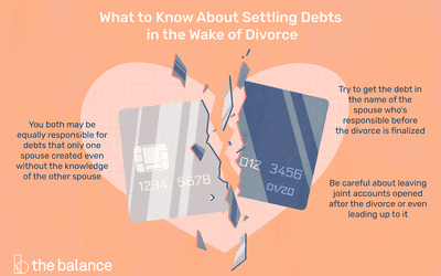 What Happens to Debt When You Get Divorced?