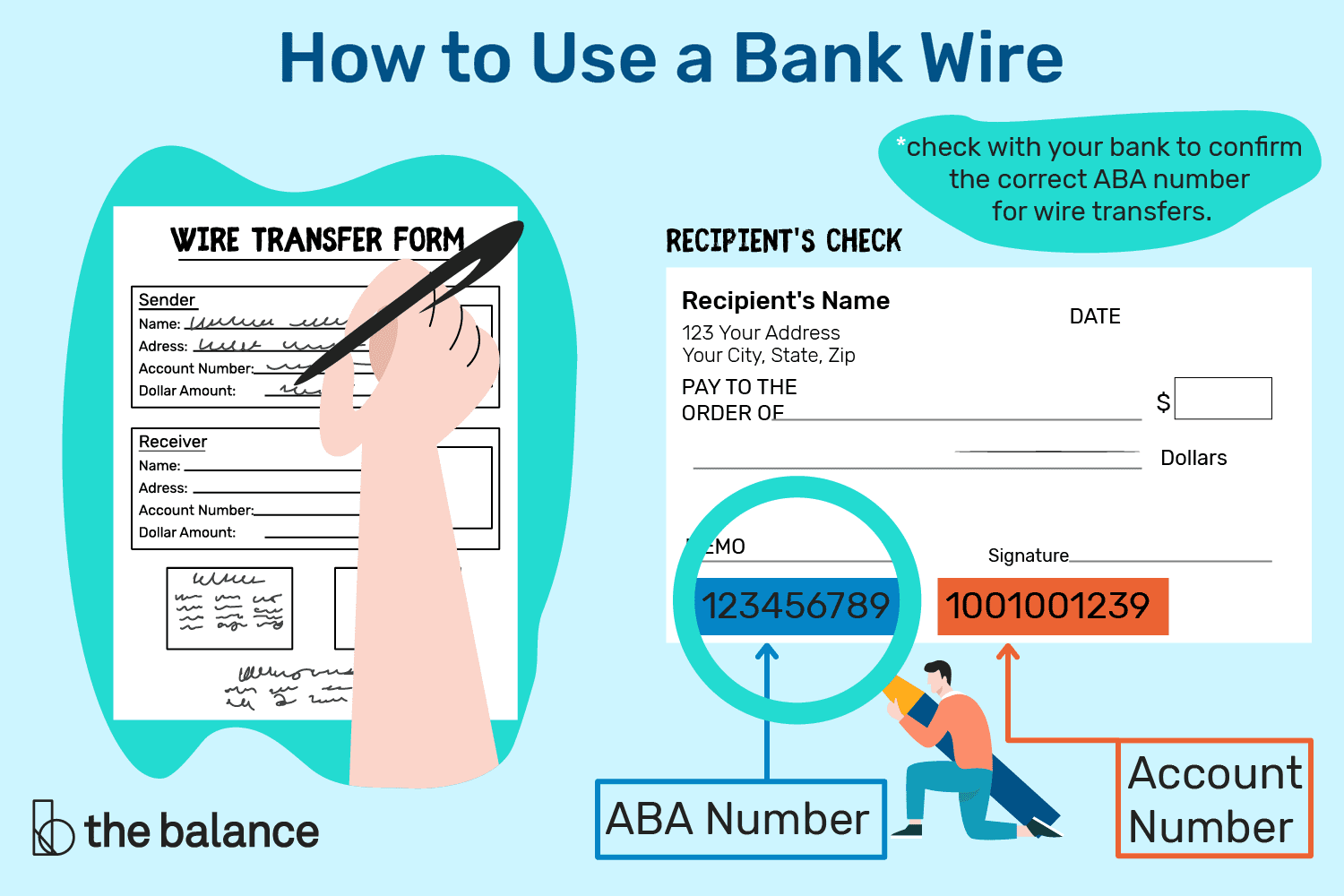 wire transfer instructions