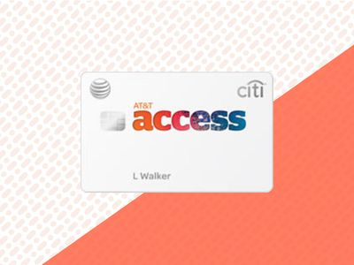 AT&T Access Card on background