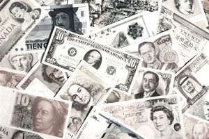 World currency notes