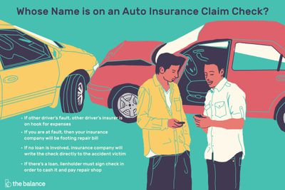 Car Auto Insurance Companies >> Who An Auto Insurance Claim Check Will Be Made Out To