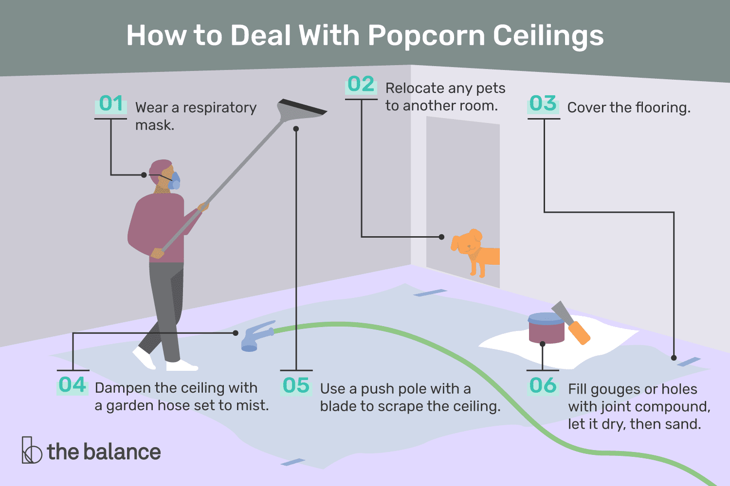 Should You A Home With Popcorn Ceilings