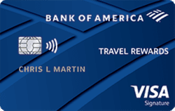Bank of America Travel Rewards Credit Card
