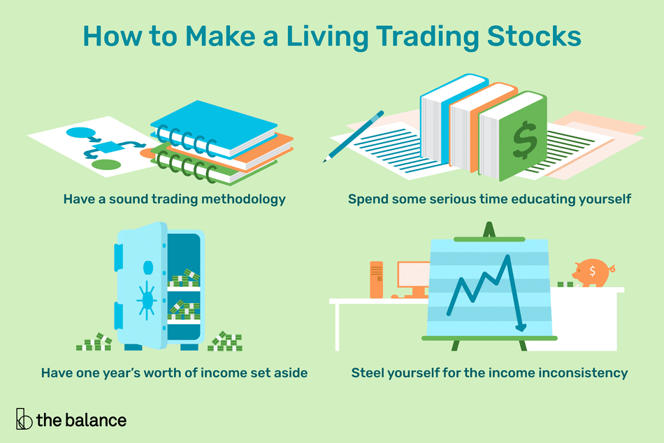 Is It Possible To Make A Living Trading Stocks