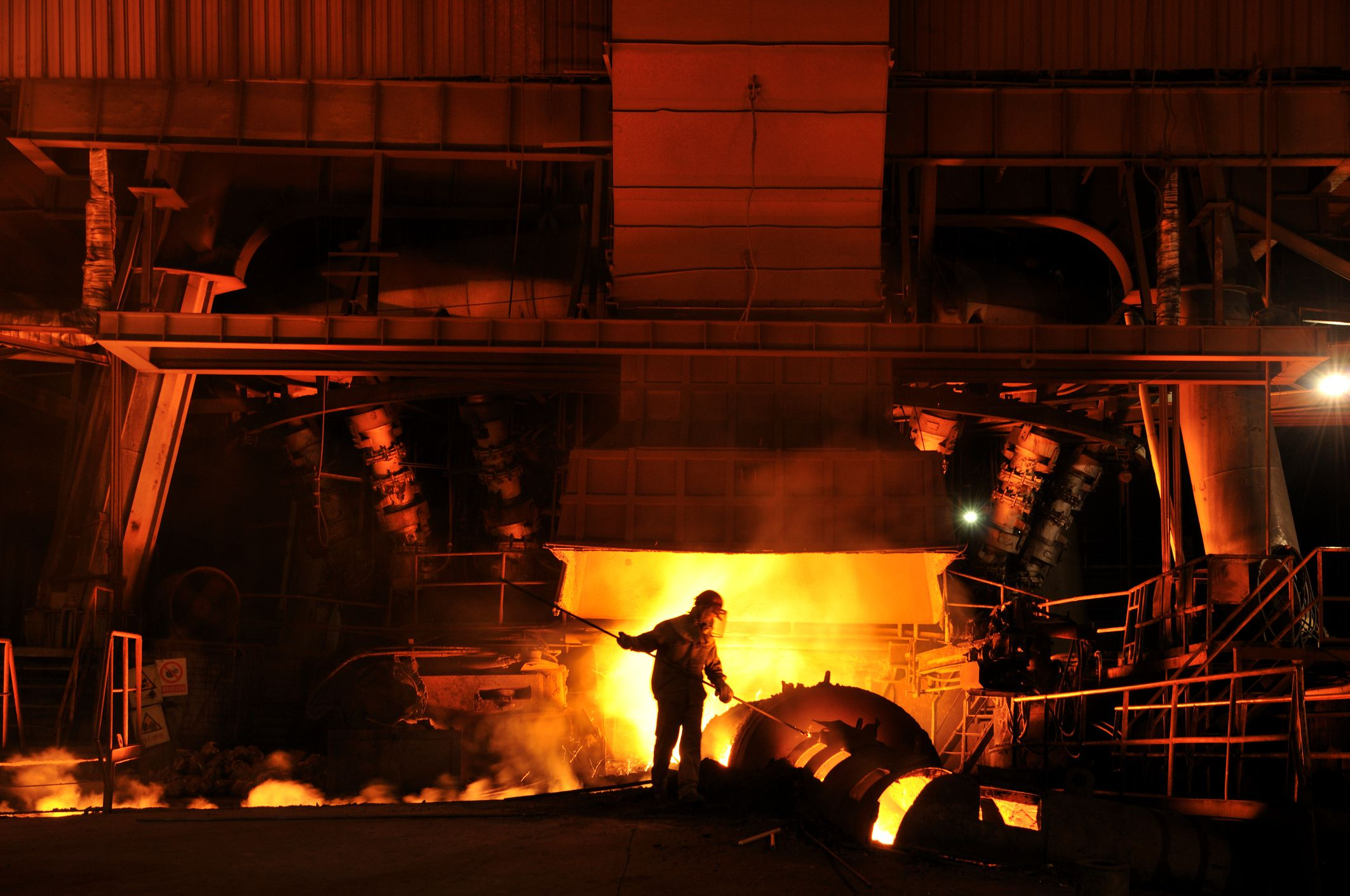 Steps in the Modern Steelmaking Process