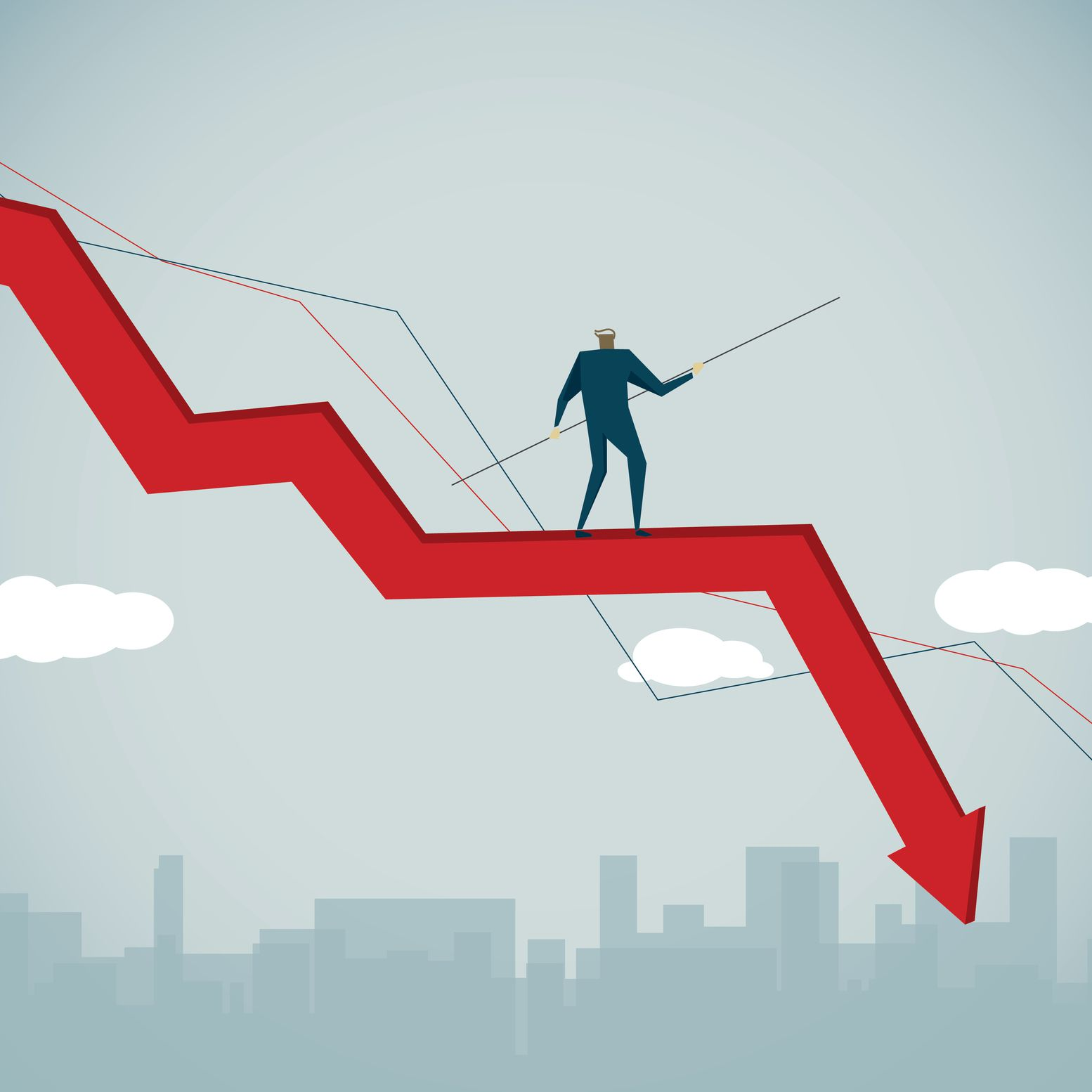 How to Bet on a Country's Economic Decline