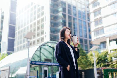 Young Professional Woman in City