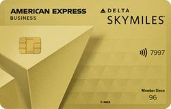Delta SkyMiles® Gold Business Card