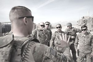 U.S. Soldiers Continue Advisory Role As Election Nears In Afghanistan