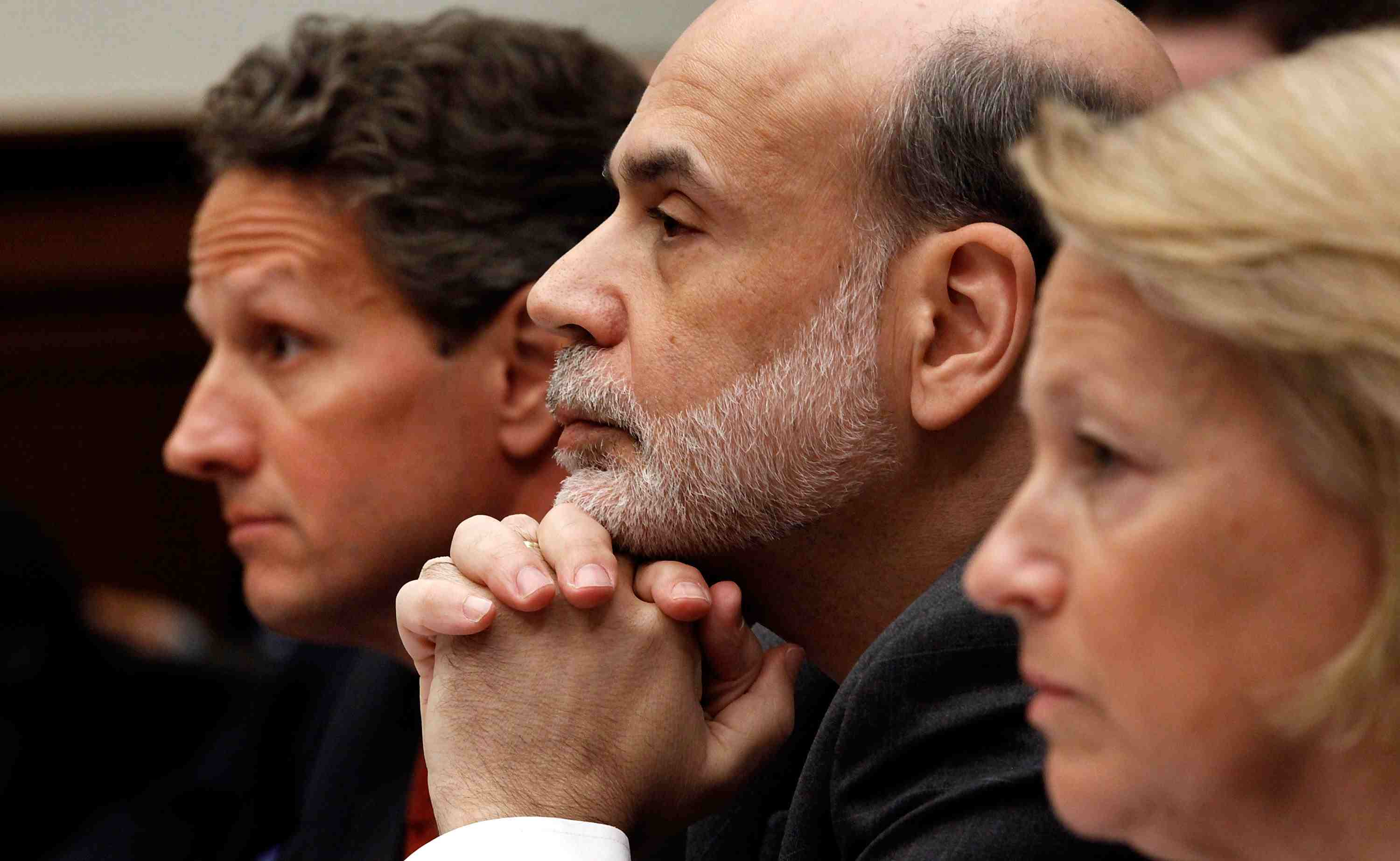 Geithner, Bernanke, And Fuld Testify At House Hearing On Lehman Bankruptcy