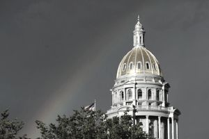 Newly Restored Colorado State Capitol Dome