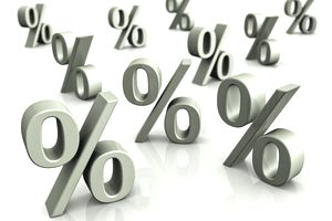 Percentage Stocks Interest Rates