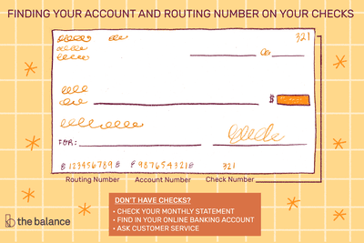 Where Is The Account Number On A Check