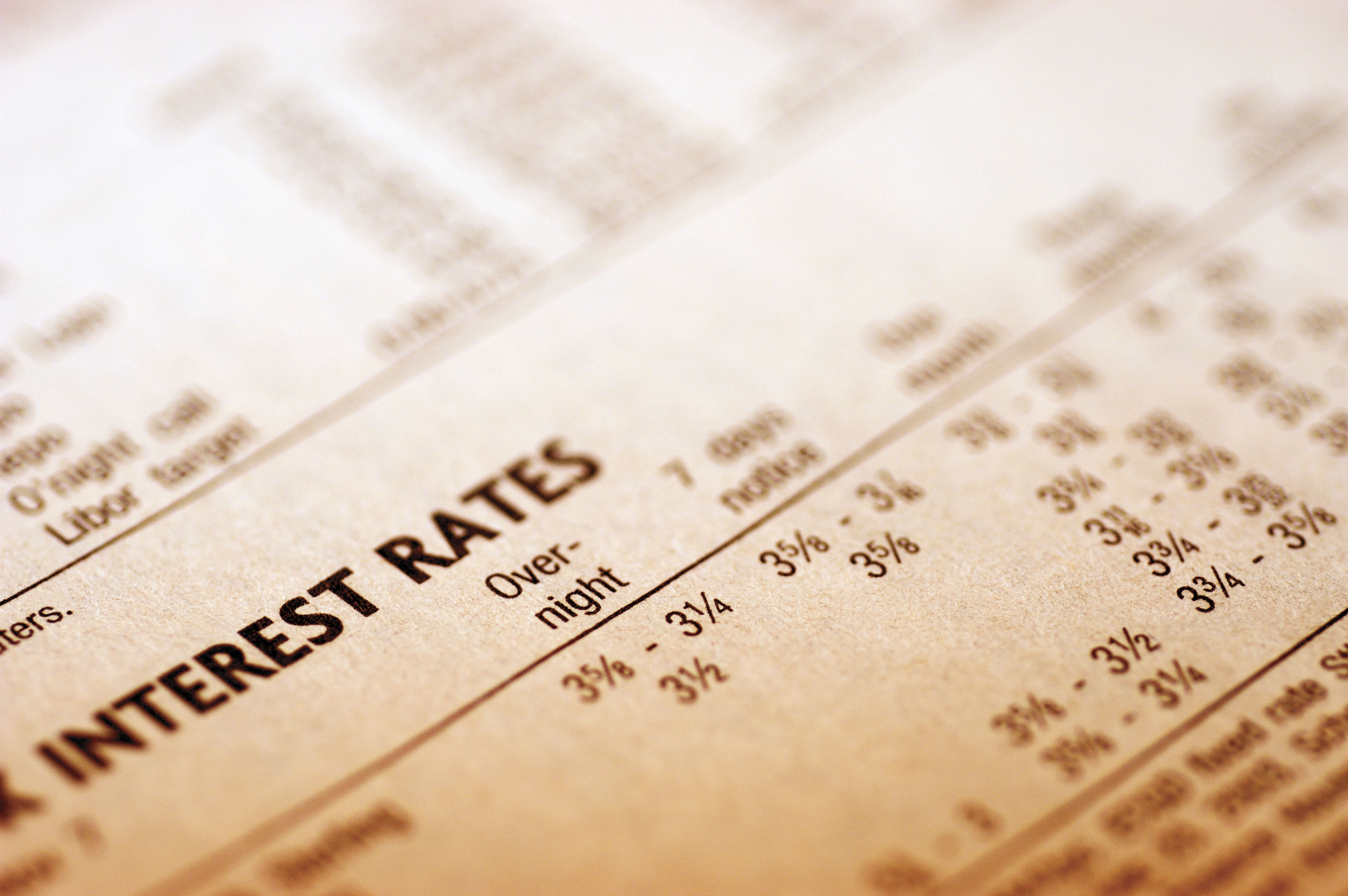 Forex interests rate